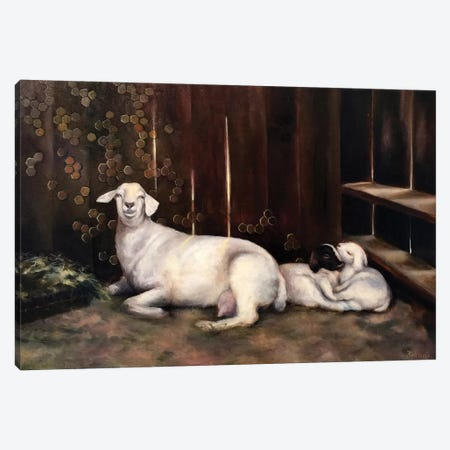 Mother Canvas Print #BOT27} by Sandra Bottinelli Canvas Wall Art
