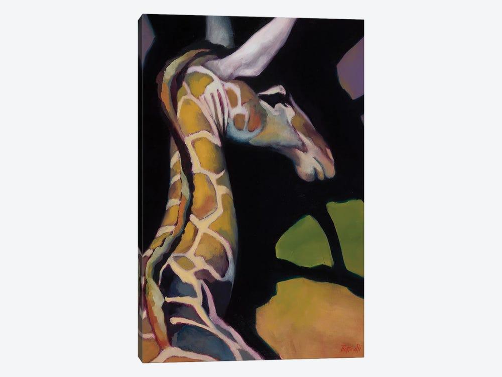 Portrait Of A Giraffe by Sandra Bottinelli 1-piece Canvas Art