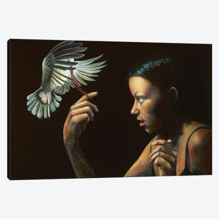 The Gift Canvas Print #BOT44} by Sandra Bottinelli Canvas Artwork