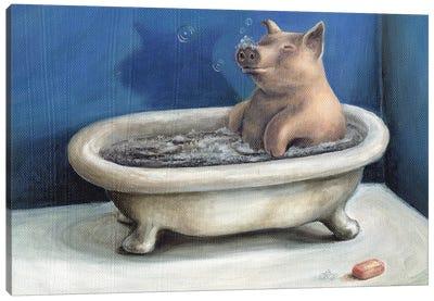 Bathing Beauty Canvas Art Print