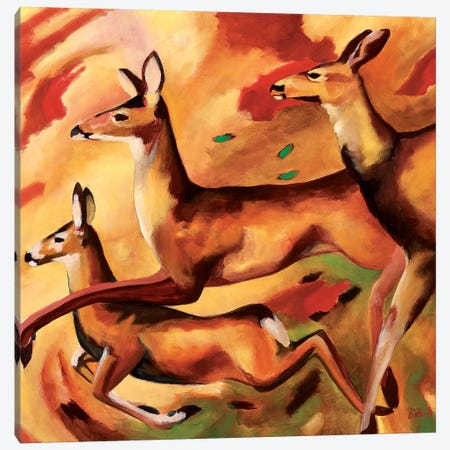 Freedom Canvas Print #BOT58} by Sandra Bottinelli Canvas Art