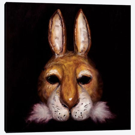 Hare Mask Canvas Print #BOT62} by Sandra Bottinelli Canvas Print
