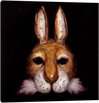 Hare Mask Canvas Art Print