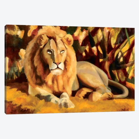 King Canvas Print #BOT66} by Sandra Bottinelli Canvas Art