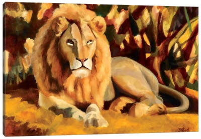 King Canvas Art Print
