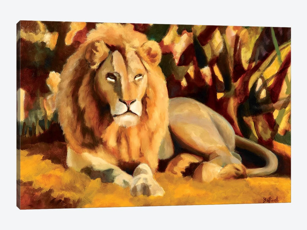 King by Sandra Bottinelli 1-piece Art Print