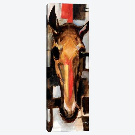 Racehorse Canvas Print #BOT67} by Sandra Bottinelli Canvas Wall Art