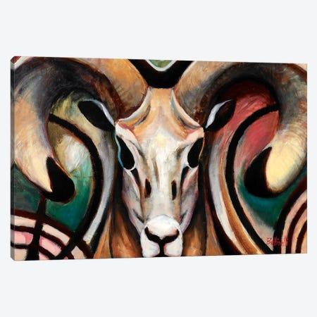 Ram 3-Piece Canvas #BOT68} by Sandra Bottinelli Art Print