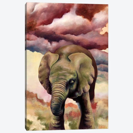 Big Things Have Small Beginnings Canvas Print #BOT6} by Sandra Bottinelli Art Print