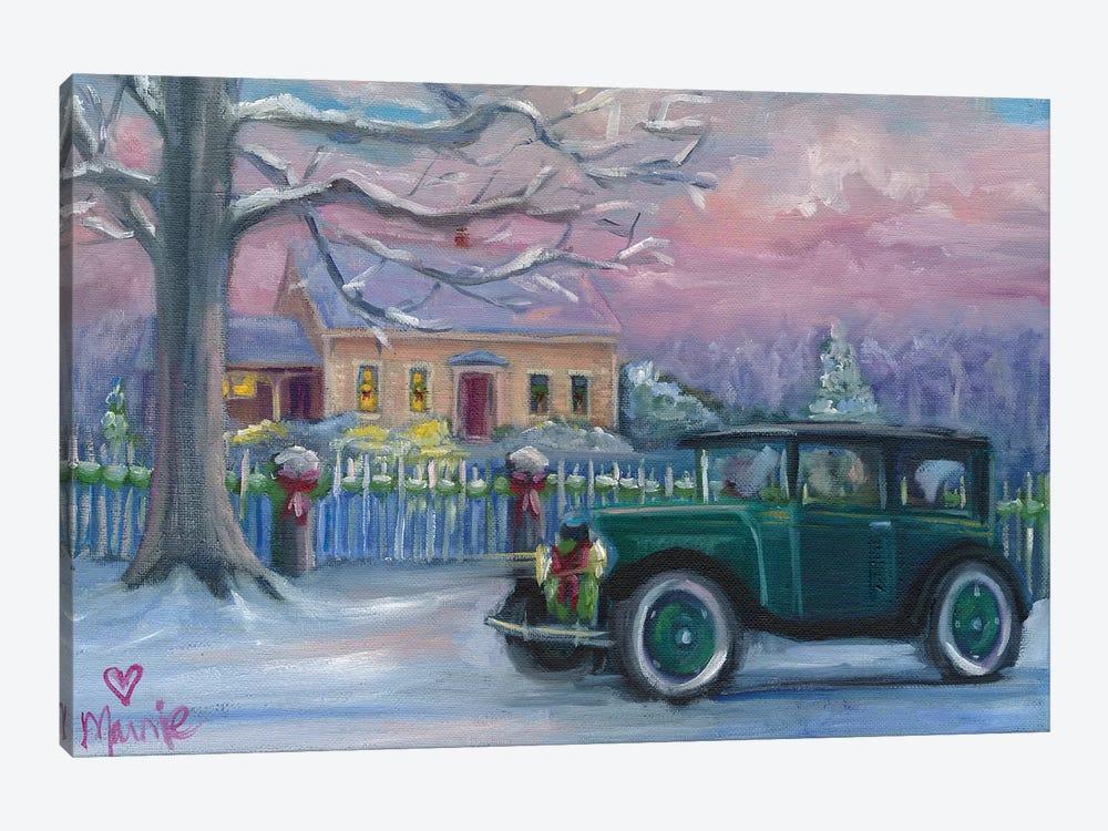Woods Homestead by Marnie Bourque 1-piece Canvas Art Print