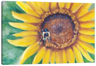 Busy Bee Canvas Art Print