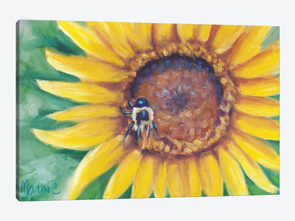 Busy Bee by Marnie Bourque 1-piece Art Print