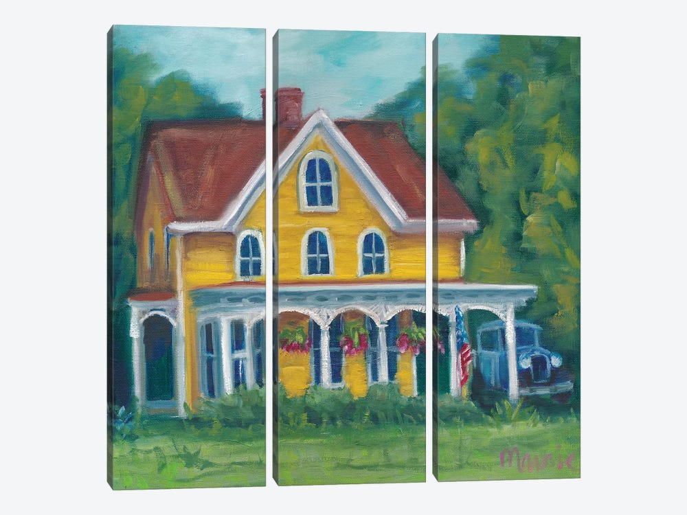 Canterbury Home by Marnie Bourque 3-piece Canvas Wall Art