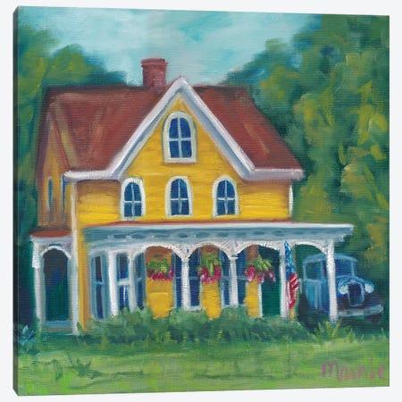 Canterbury Home Canvas Print #BOU13} by Marnie Bourque Art Print