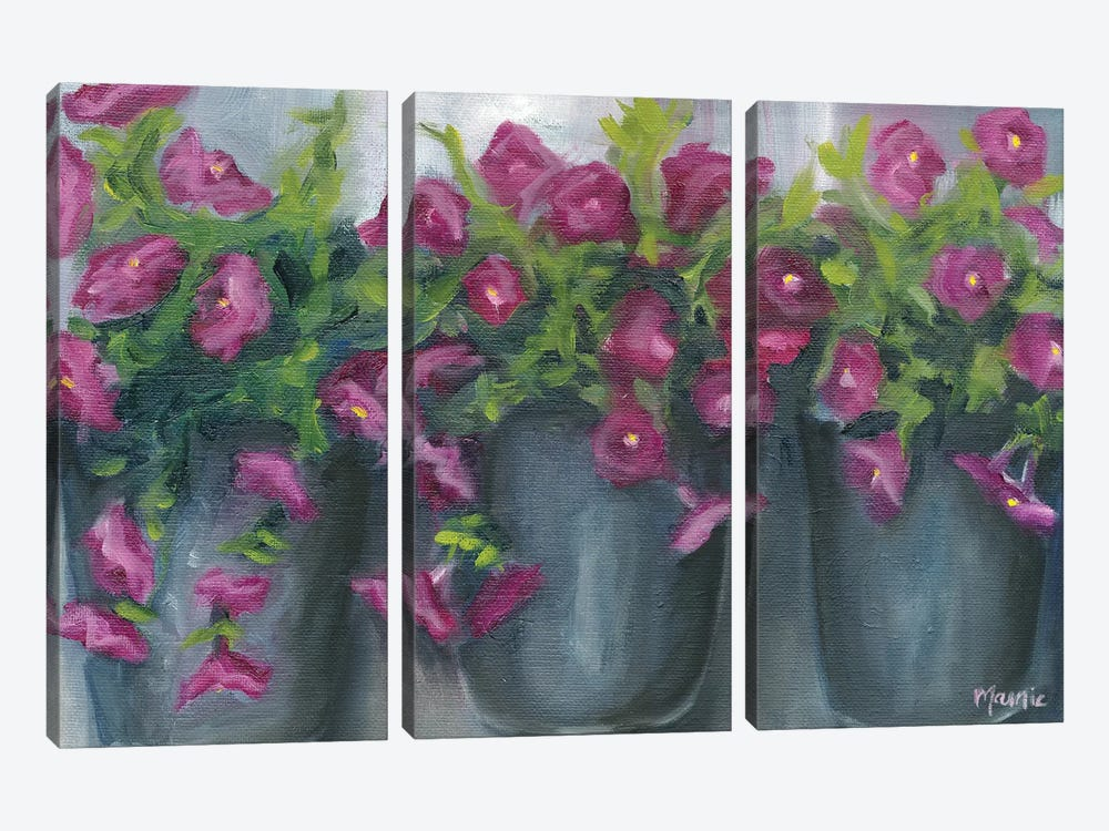 3 Of A Kind by Marnie Bourque 3-piece Art Print