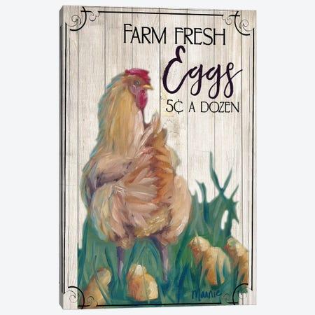 Eggs II Canvas Print #BOU21} by Marnie Bourque Canvas Artwork