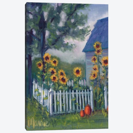 Ekonk Garden Canvas Print #BOU22} by Marnie Bourque Canvas Wall Art