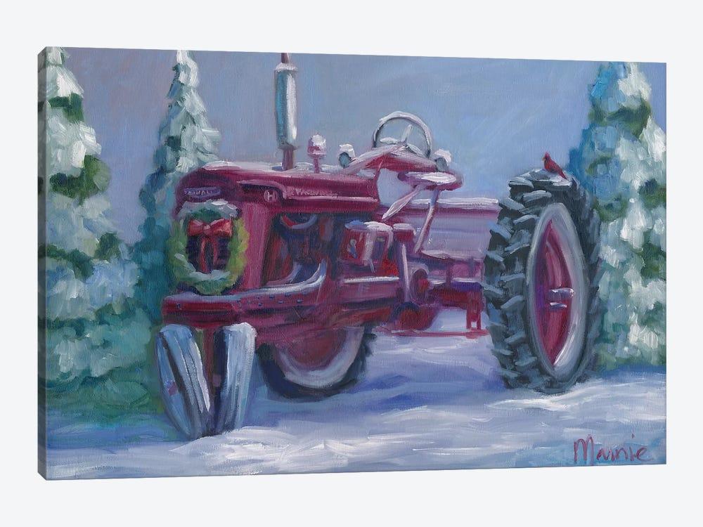 Farmall Fresh Snow by Marnie Bourque 1-piece Canvas Wall Art