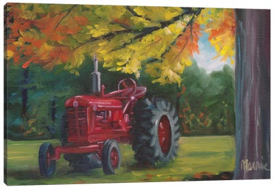 Farmall Splendour Canvas Art Print