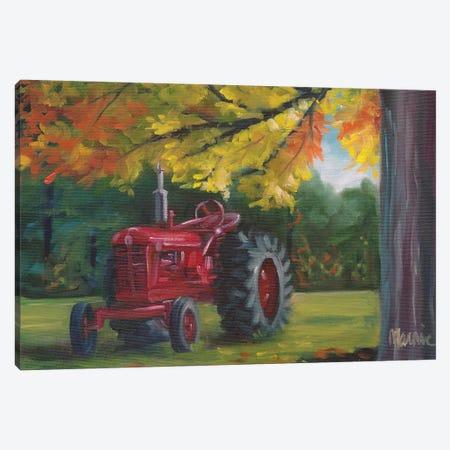 Farmall Splendour Canvas Print #BOU27} by Marnie Bourque Art Print