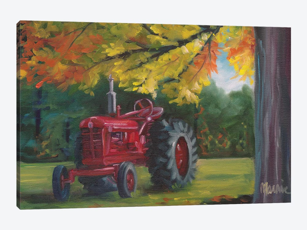 Farmall Splendour by Marnie Bourque 1-piece Canvas Art Print