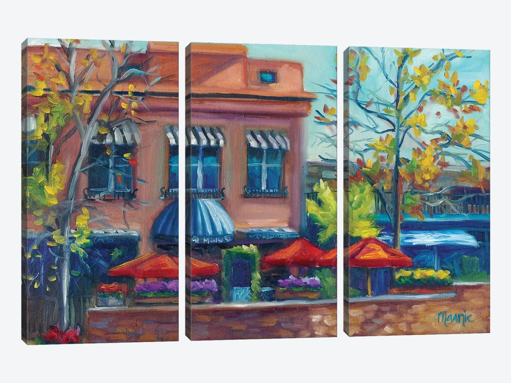 Al Fresco by Marnie Bourque 3-piece Canvas Art