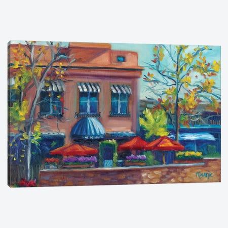 Al Fresco Canvas Print #BOU2} by Marnie Bourque Canvas Print