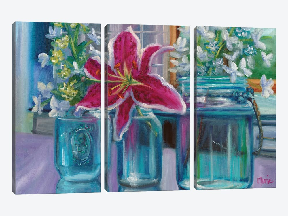 From My Garden by Marnie Bourque 3-piece Canvas Artwork