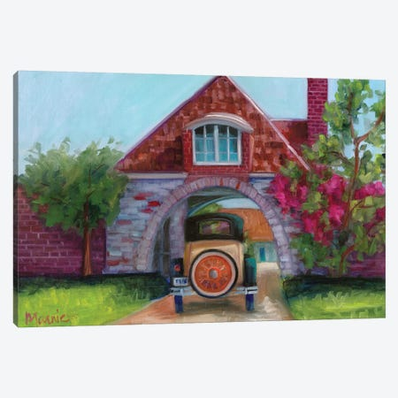 Going Home Canvas Print #BOU36} by Marnie Bourque Canvas Wall Art