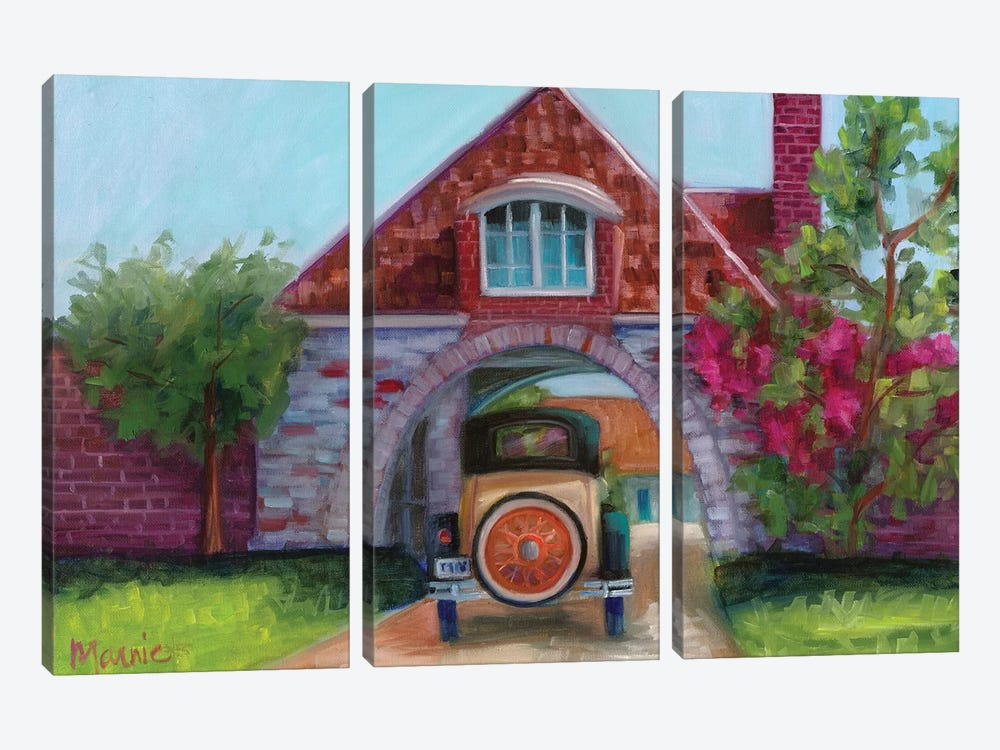 Going Home by Marnie Bourque 3-piece Canvas Print