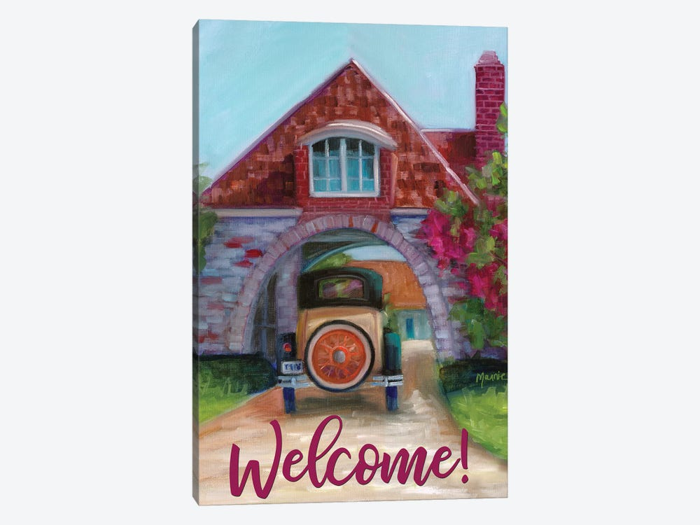 Going Home, Text by Marnie Bourque 1-piece Canvas Wall Art