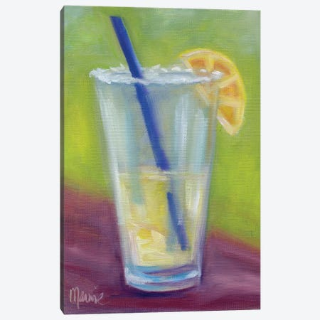Half Full 3-Piece Canvas #BOU38} by Marnie Bourque Art Print