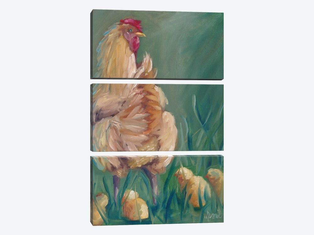 Antonia by Marnie Bourque 3-piece Canvas Art Print