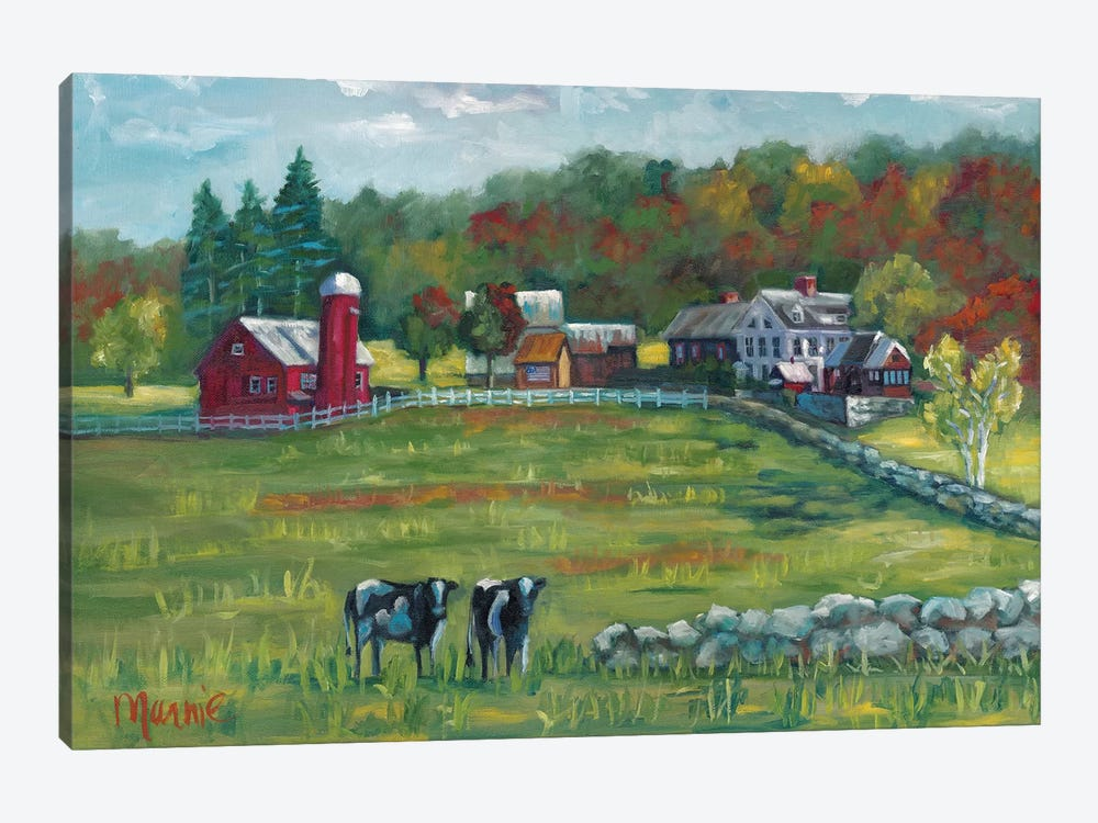 Hints Of Fall by Marnie Bourque 1-piece Canvas Wall Art