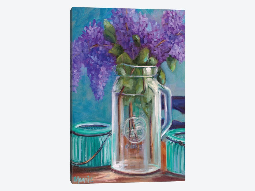Homestead Lilacs by Marnie Bourque 1-piece Art Print