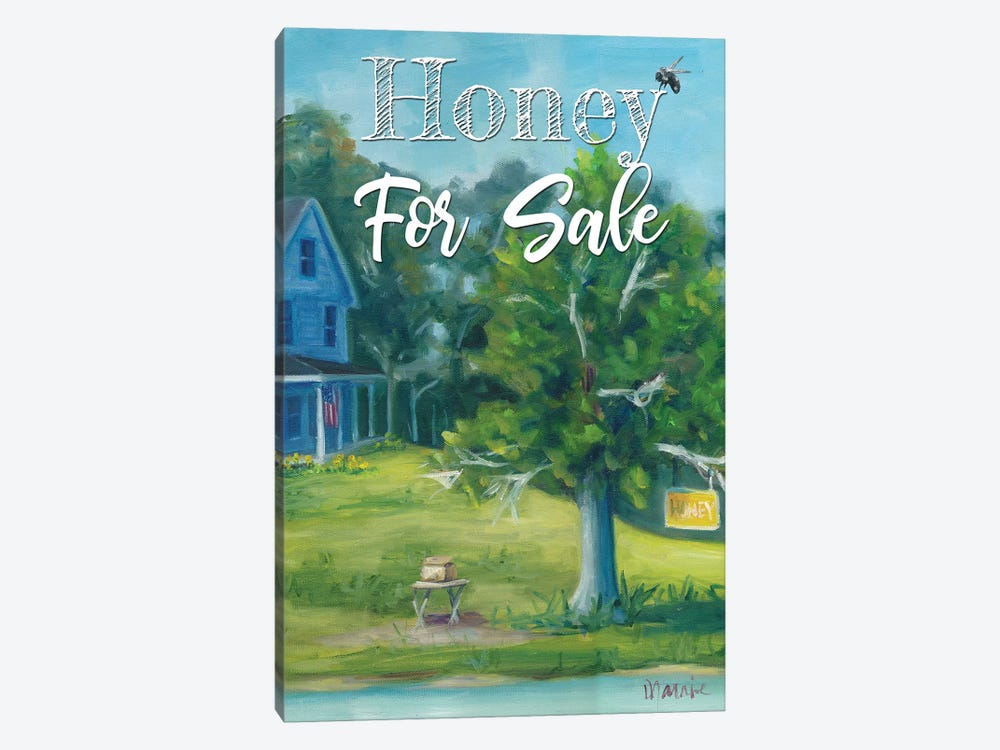 Honey For Sale, Text by Marnie Bourque 1-piece Art Print