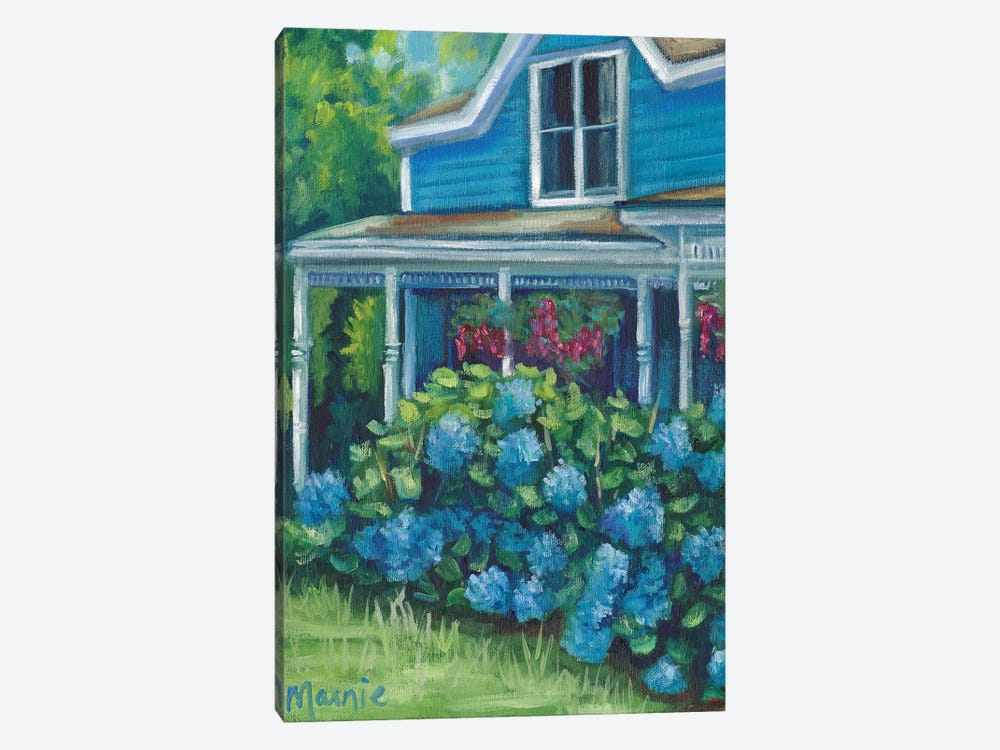Hydrangea Riot by Marnie Bourque 1-piece Canvas Wall Art