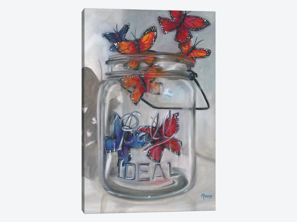 Jar Of Hope by Marnie Bourque 1-piece Canvas Artwork