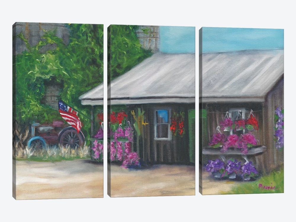 Betsy's Stand I by Marnie Bourque 3-piece Canvas Artwork