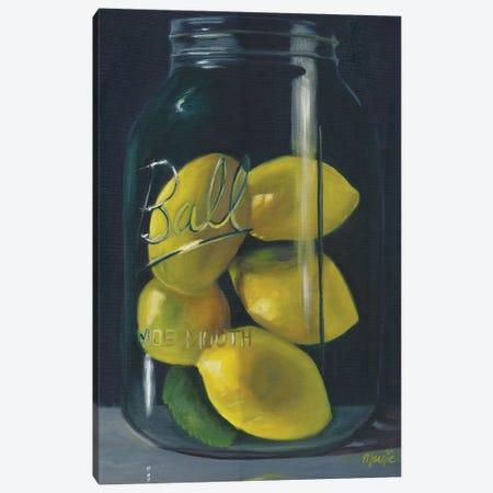 Lemons Canvas Print #BOU52} by Marnie Bourque Canvas Art Print