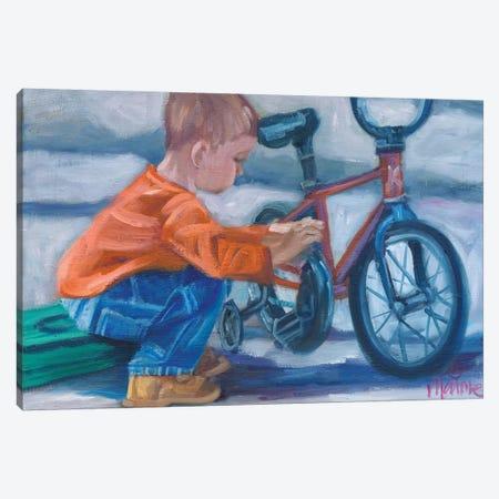 Like Father, Like Son Canvas Print #BOU53} by Marnie Bourque Canvas Print