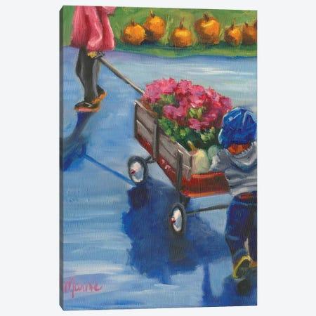 Little Helper 3-Piece Canvas #BOU54} by Marnie Bourque Canvas Wall Art