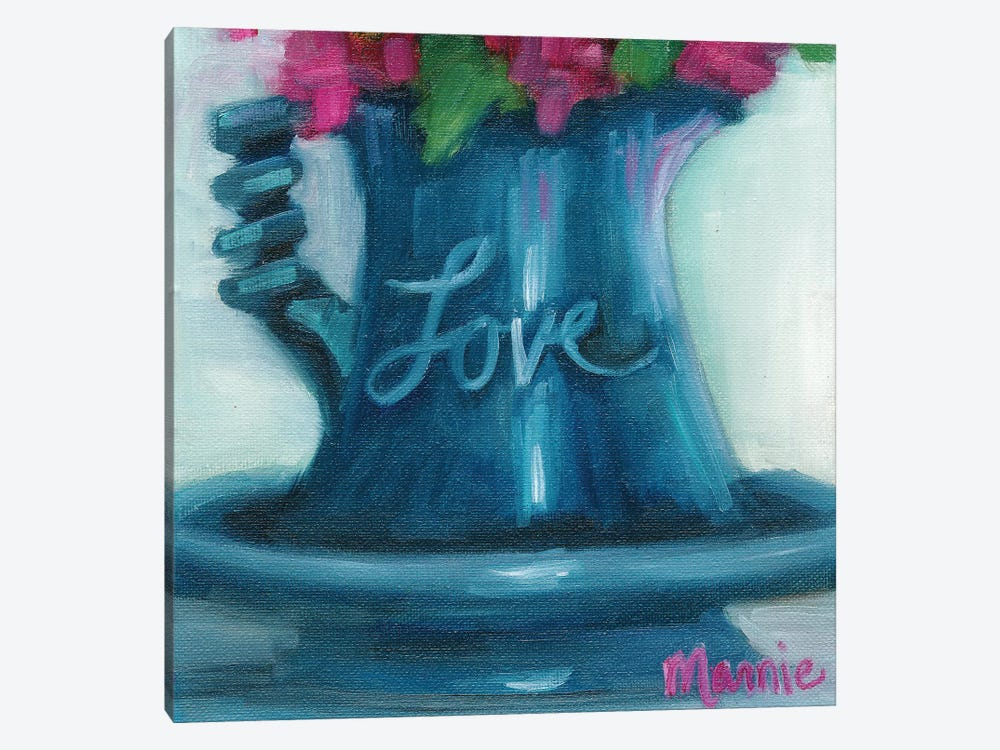 Love by Marnie Bourque 1-piece Canvas Print
