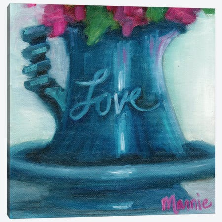 Love Canvas Print #BOU58} by Marnie Bourque Canvas Art Print