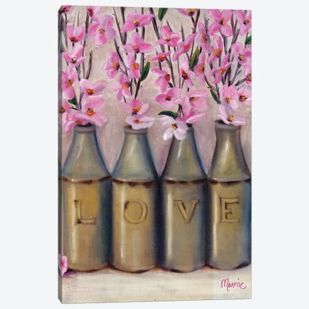 Love Springtime Canvas Print #BOU59} by Marnie Bourque Canvas Print