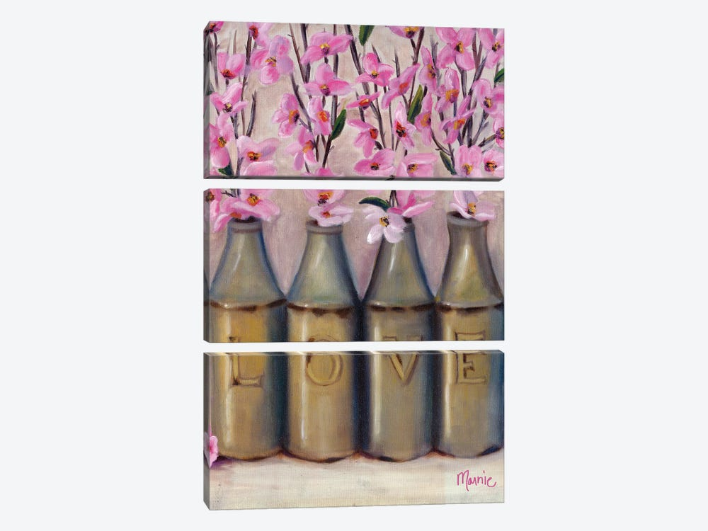 Love Springtime by Marnie Bourque 3-piece Canvas Wall Art