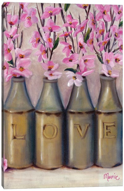 Love Springtime Canvas Art Print