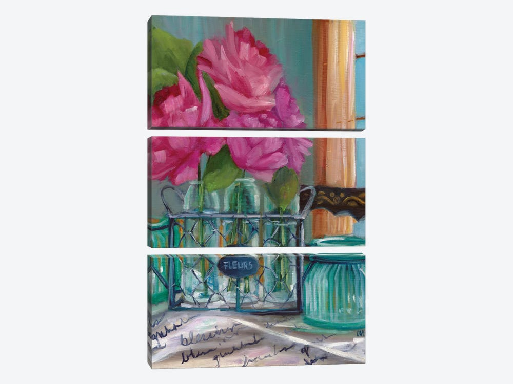 Betsy's Stand II by Marnie Bourque 3-piece Canvas Print