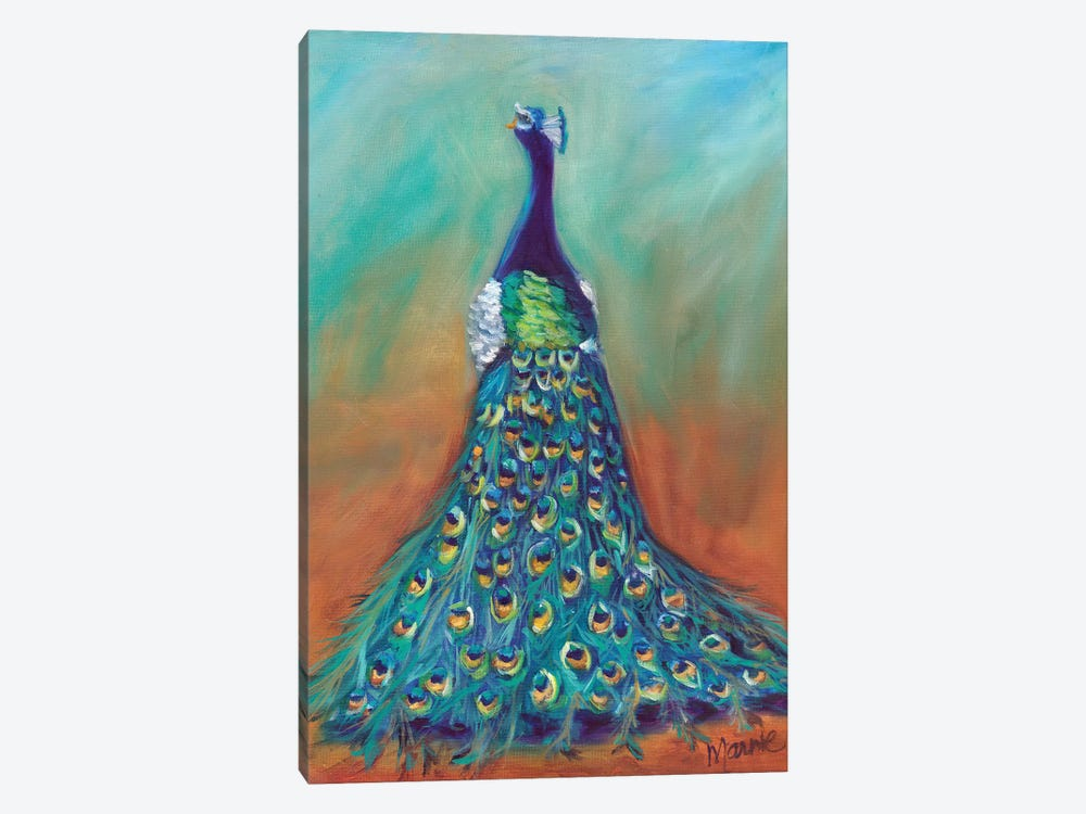 Mysterious Ways by Marnie Bourque 1-piece Canvas Art
