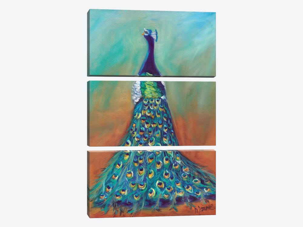 Mysterious Ways by Marnie Bourque 3-piece Canvas Artwork